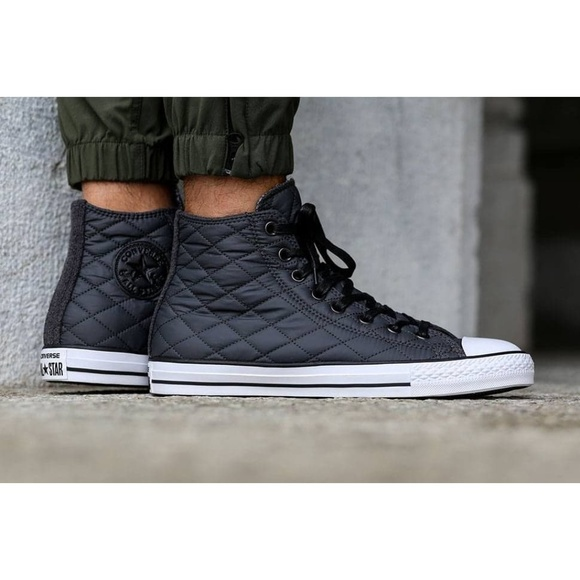 ff69180a4eb2 Converse Other - Converse Chuck Taylor Hi Quilted Nylon Shoes Sz13